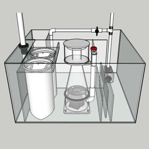 Compact Aquarium Sump
