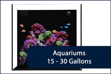 Aquariums 15-30G